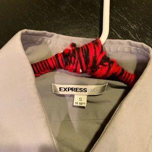 Express Shirts - Express button up grey size small